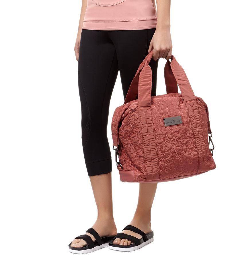 ... huge inventory 6378e 9da5b Adidas By Stella Mccartney Small Gym Bag in  Pink - Lyst ... 04f3b39b5d