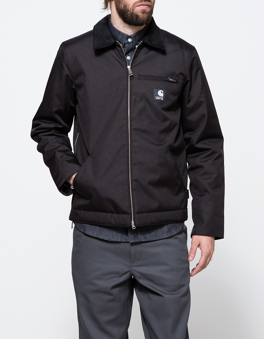 Lyst Carhartt Wip Detroit Jacket Xxv In Black For Men