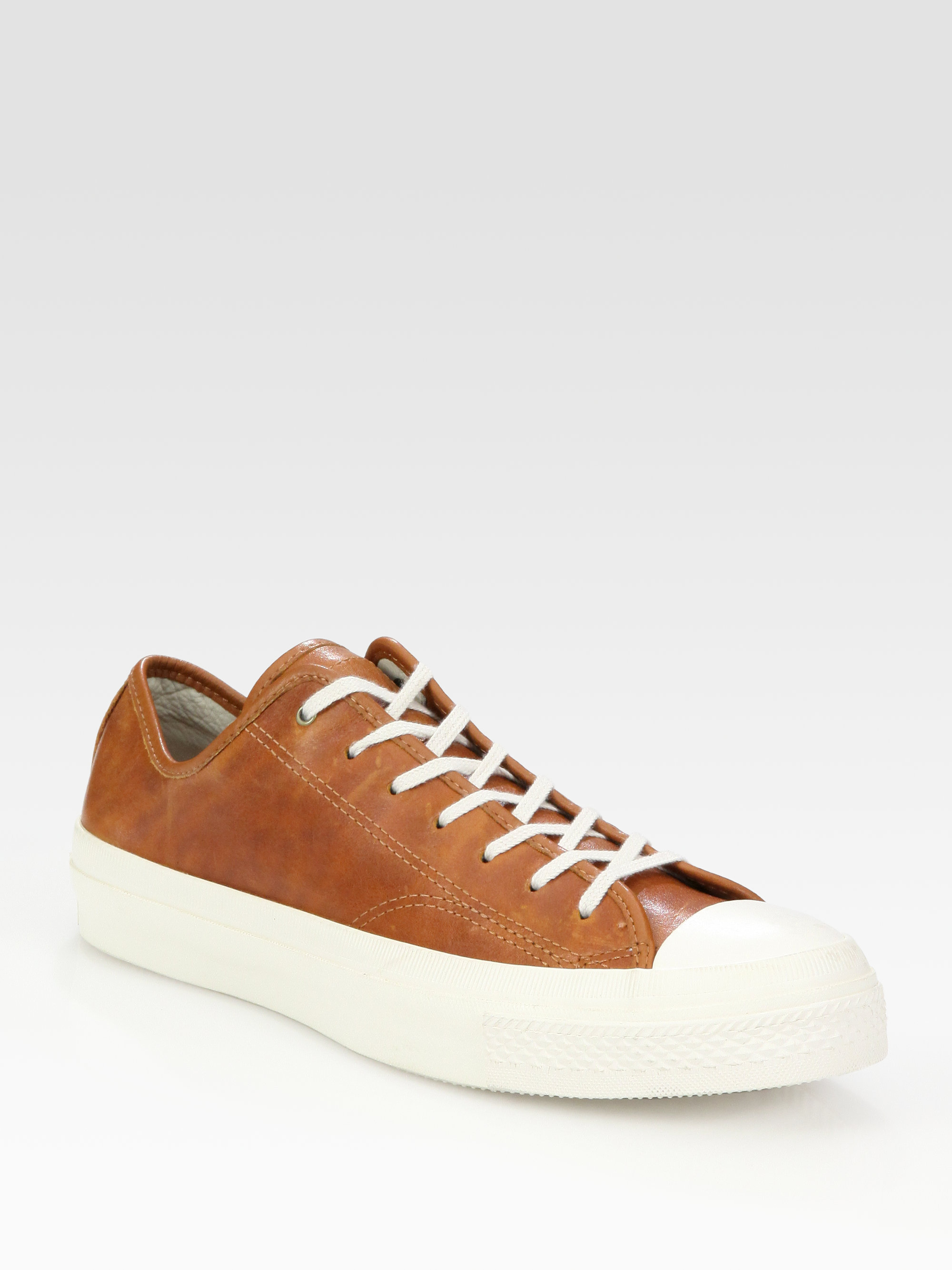 bdd3b7089f2e best price converse chuck taylor all star 70 hi leather 0342c 75c5e  cheap lyst  converse chuck taylor leather high rand oxfords in brown for men 3cc3c 88305