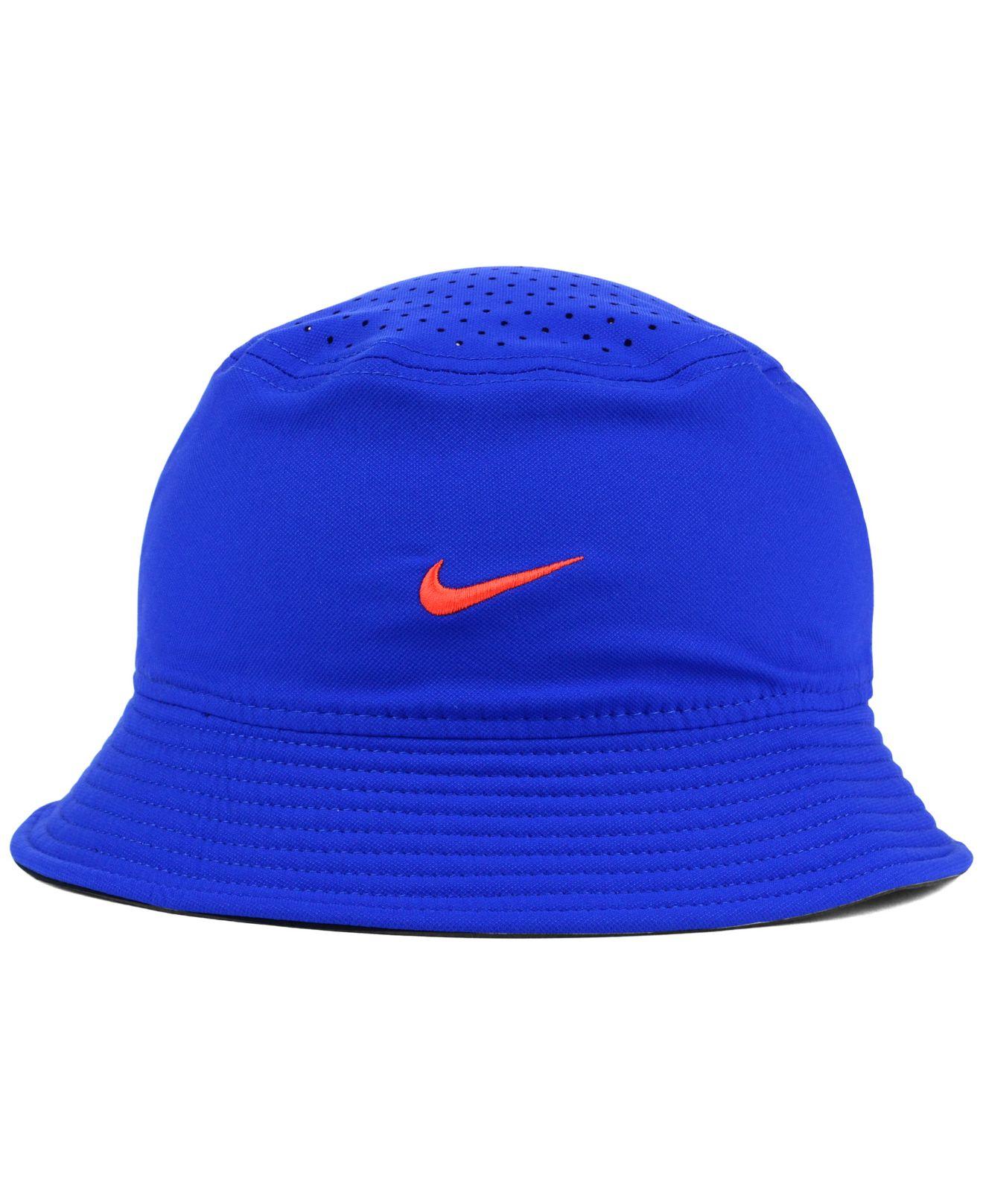 ebb5ed03 Nike Florida Gators Vapor Bucket Hat in Blue for Men - Lyst