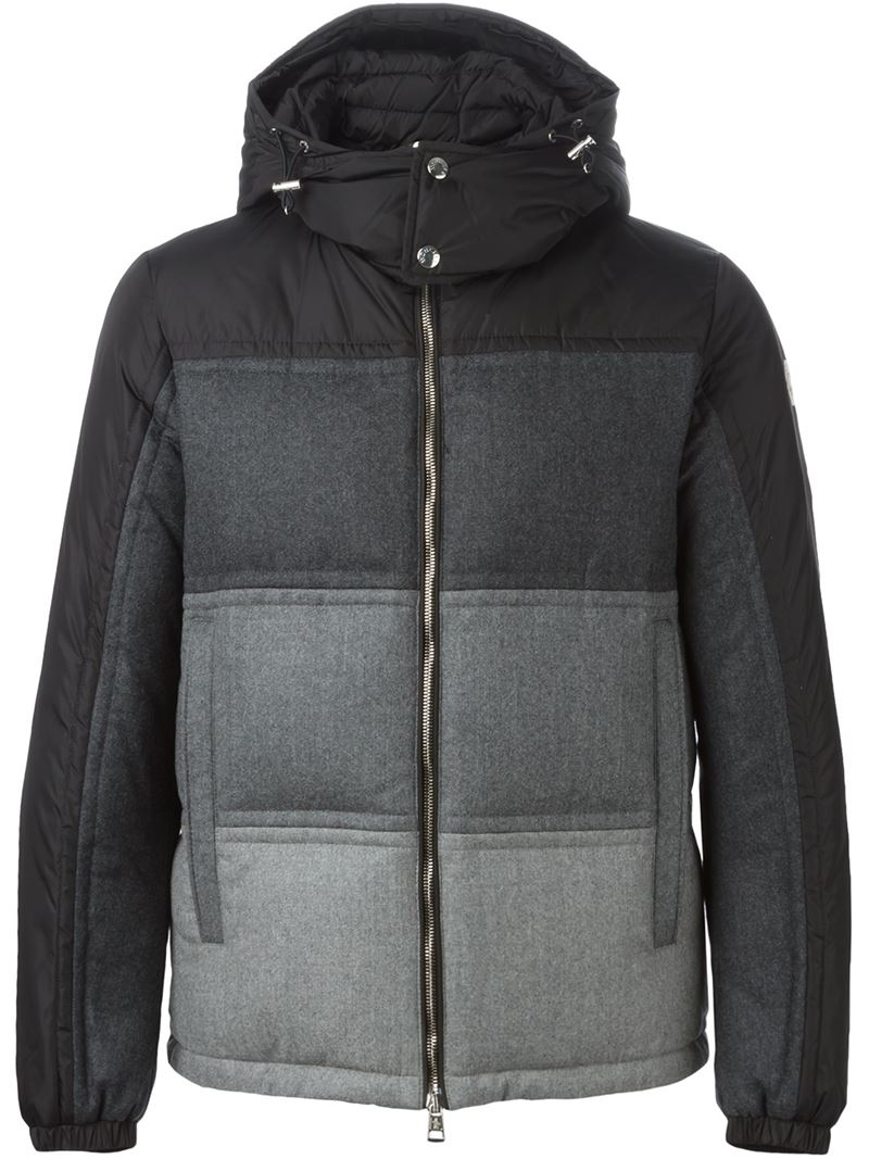 moncler grey mens jacket