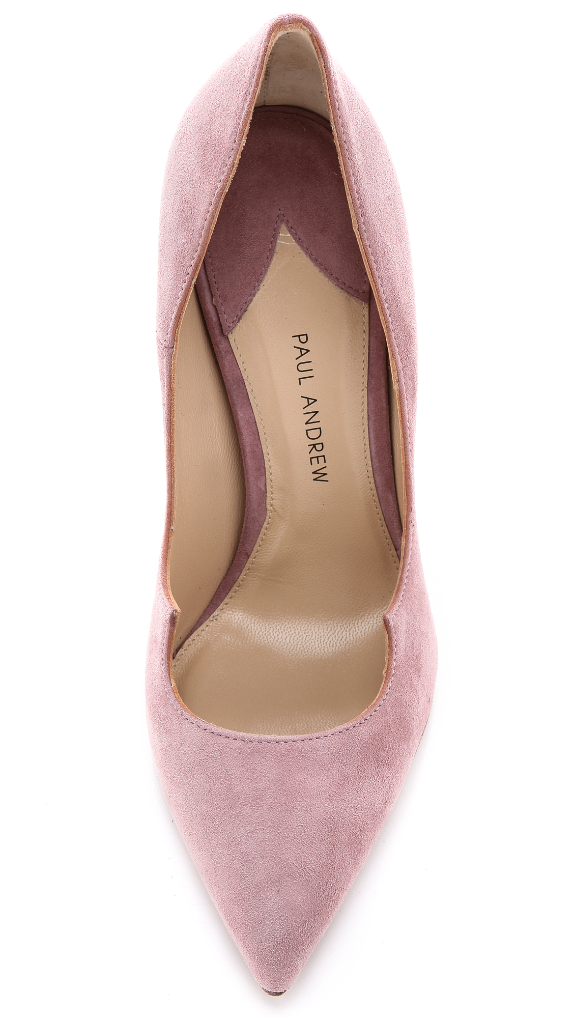 Paul Andrew Zenadia Pumps Dusty Rose In Pink Lyst