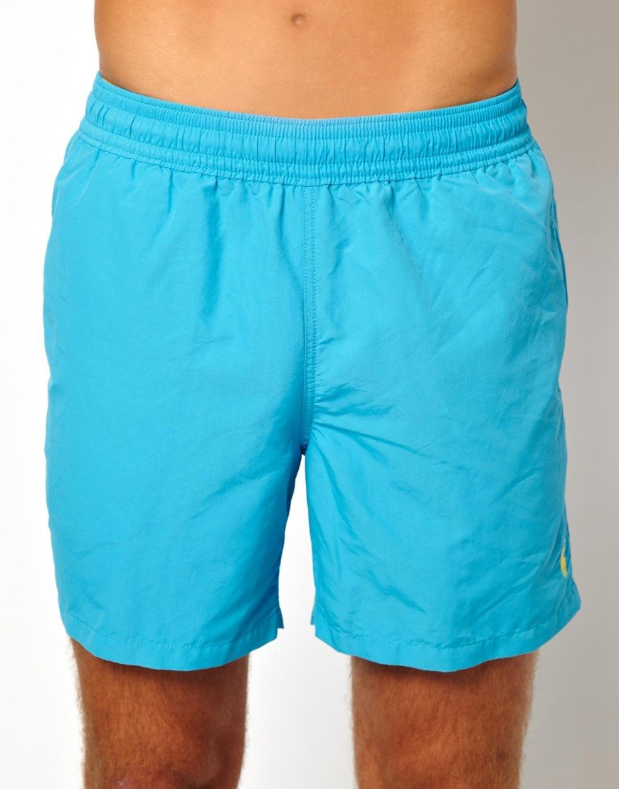 0b3e157383 ... promo code for lyst polo ralph lauren turquoise hawaiian swim shorts in  blue for men 3f8ef