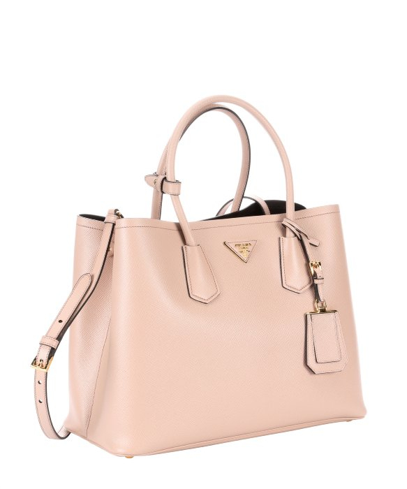 2761d0649f79 where can i buy lyst prada cameo saffiano leather convertible tote in pink  07af5 22c96