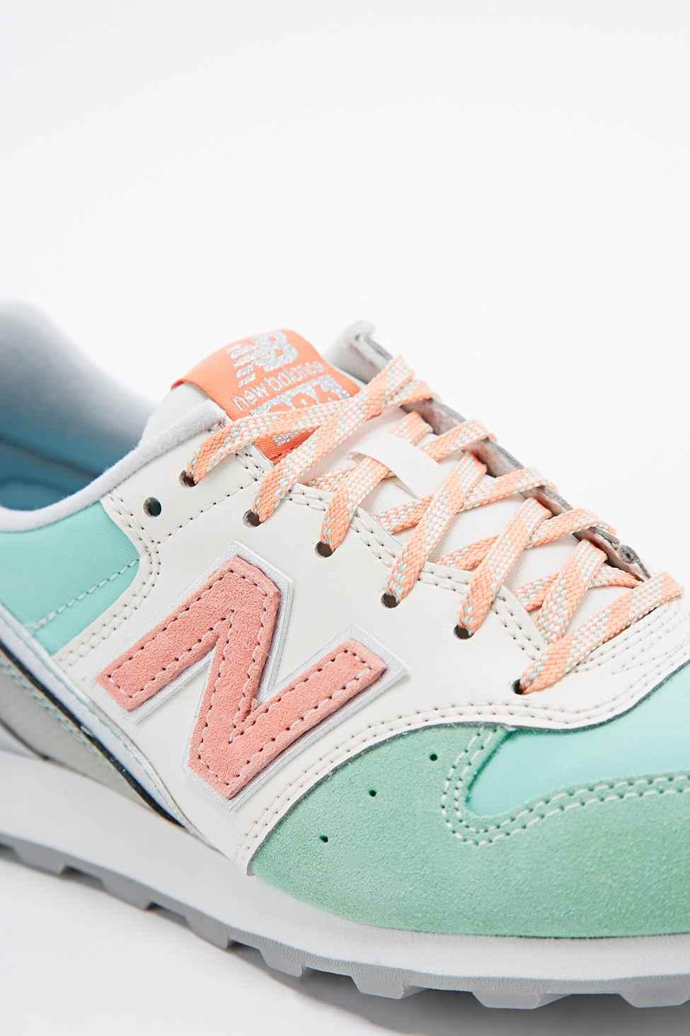 new balance mint green trainers