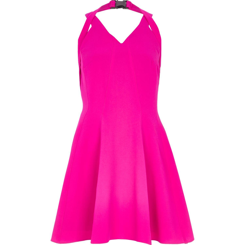 River Island Pink Maxi Dress