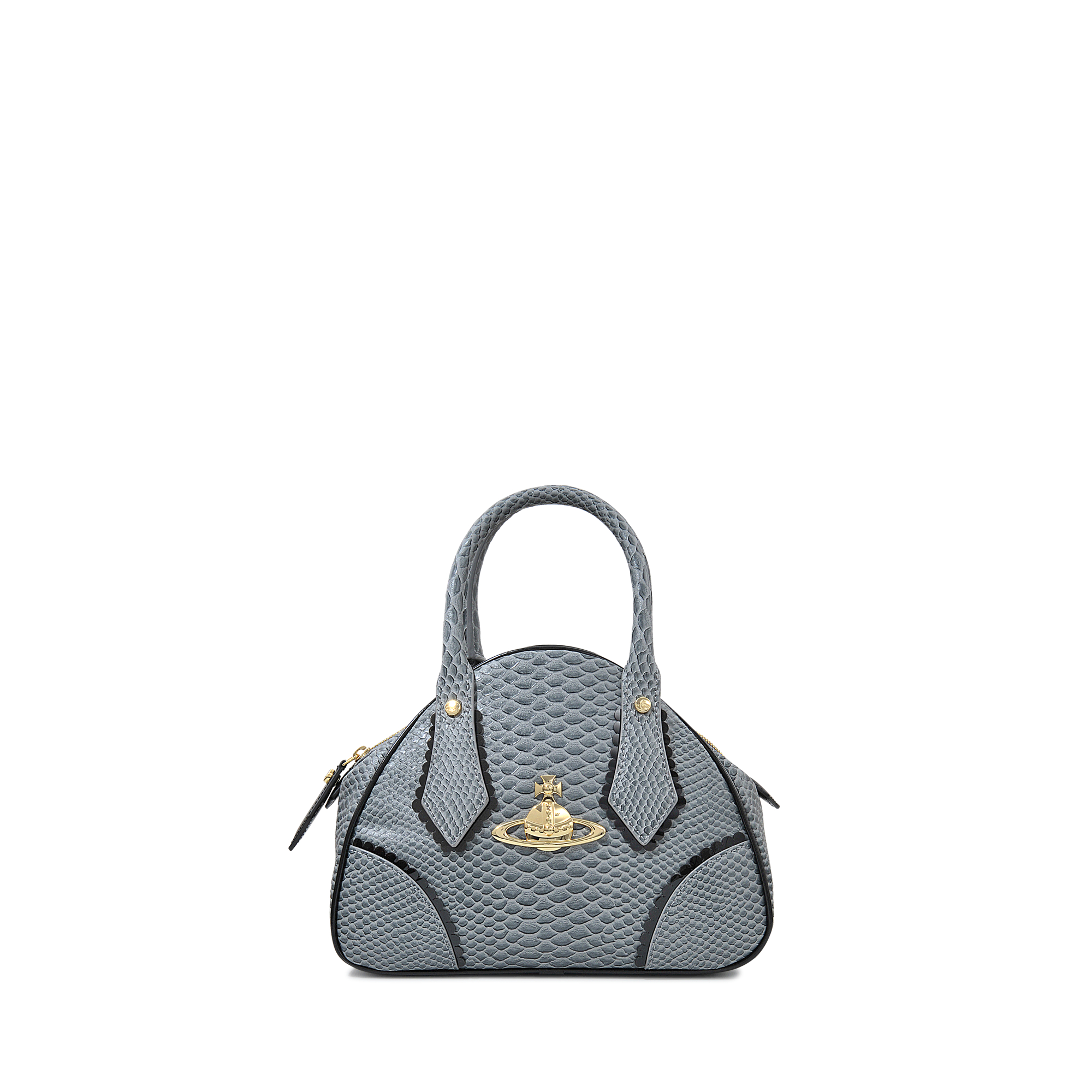 f951315a180 Vivienne Westwood Yasmin Mini Frilly Snake Bag in Gray - Lyst
