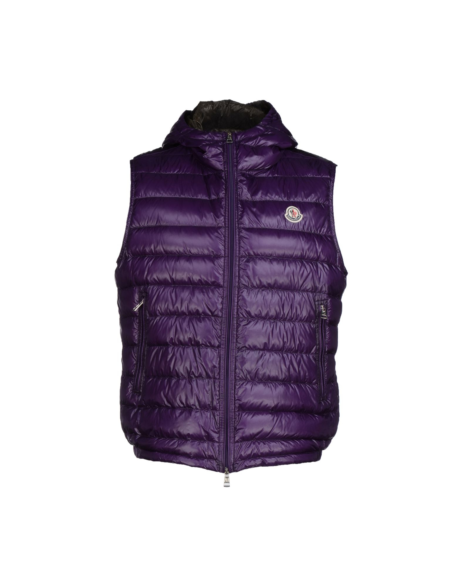 Lyst Moncler Down Jacket In Purple For Men