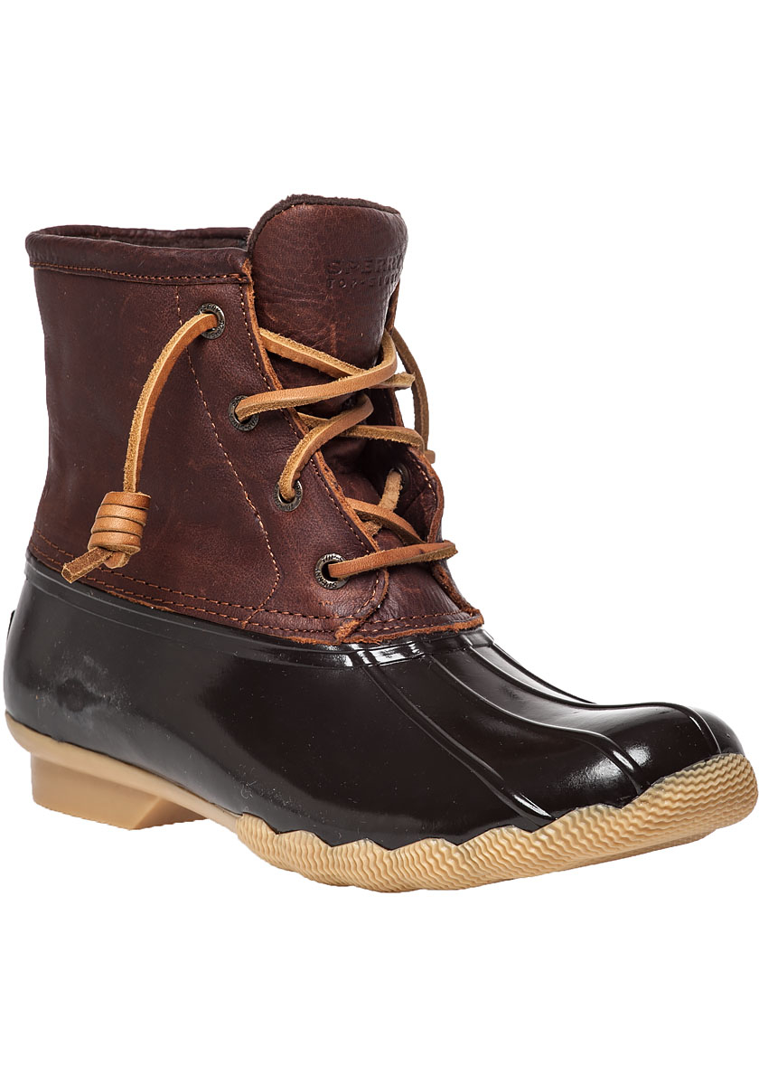 sperry top sider saltwater water resistant boots in