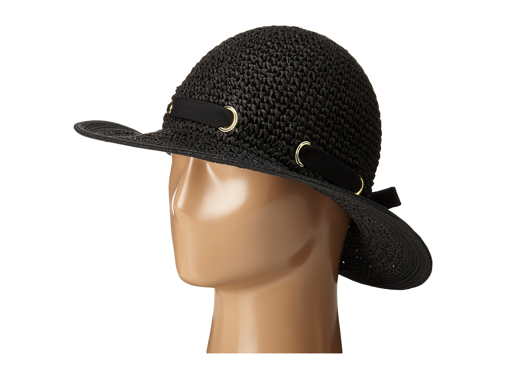 5409cfc4a14 Lyst - San Diego Hat Company Pbm1029 Crochet Floppy Hat With ...