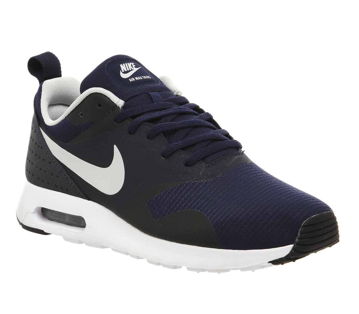 nike air max tavas low top sneakers in blue for men lyst. Black Bedroom Furniture Sets. Home Design Ideas
