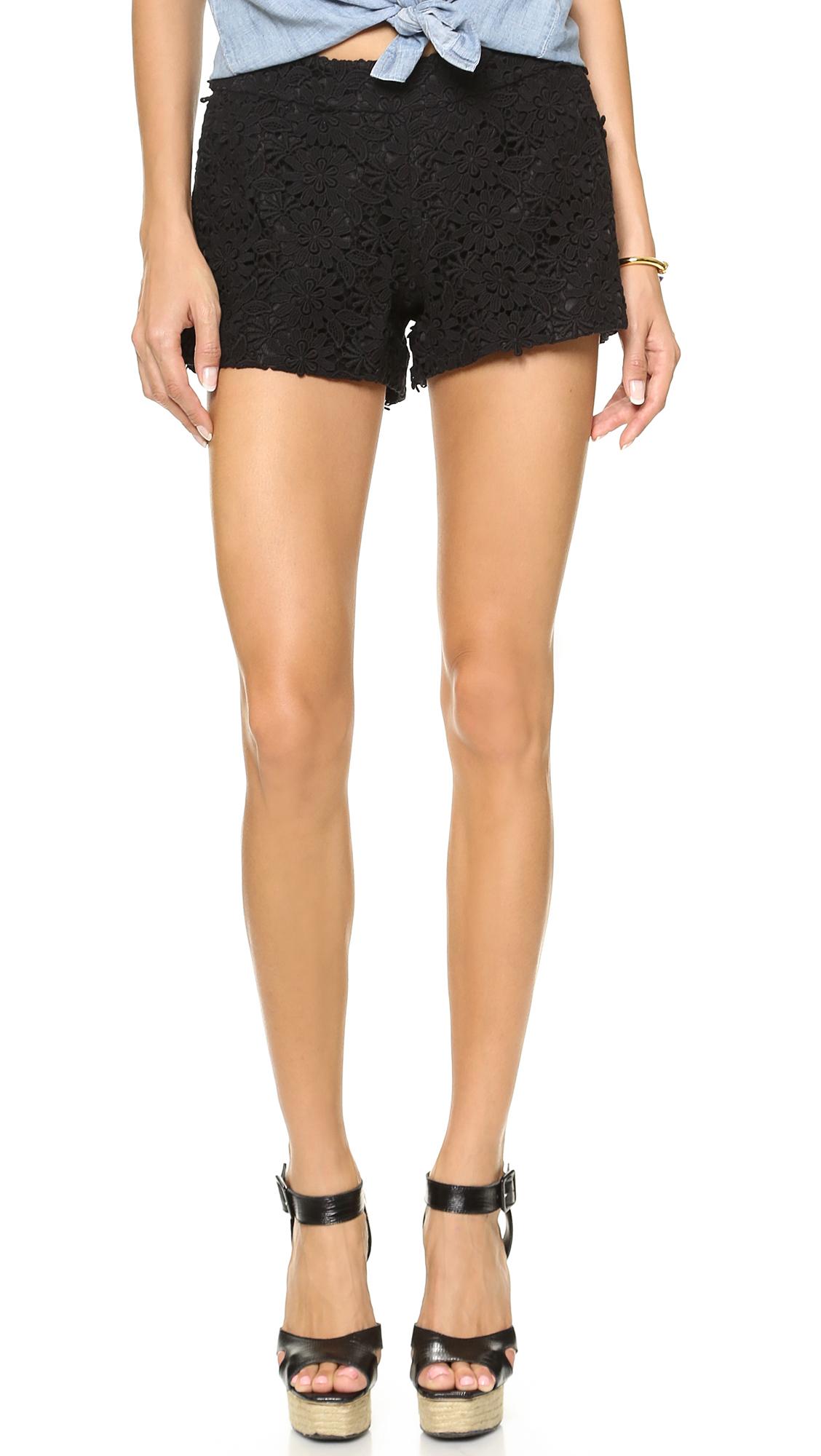 tailored shorts - Black Alice & Olivia fyJrz31s