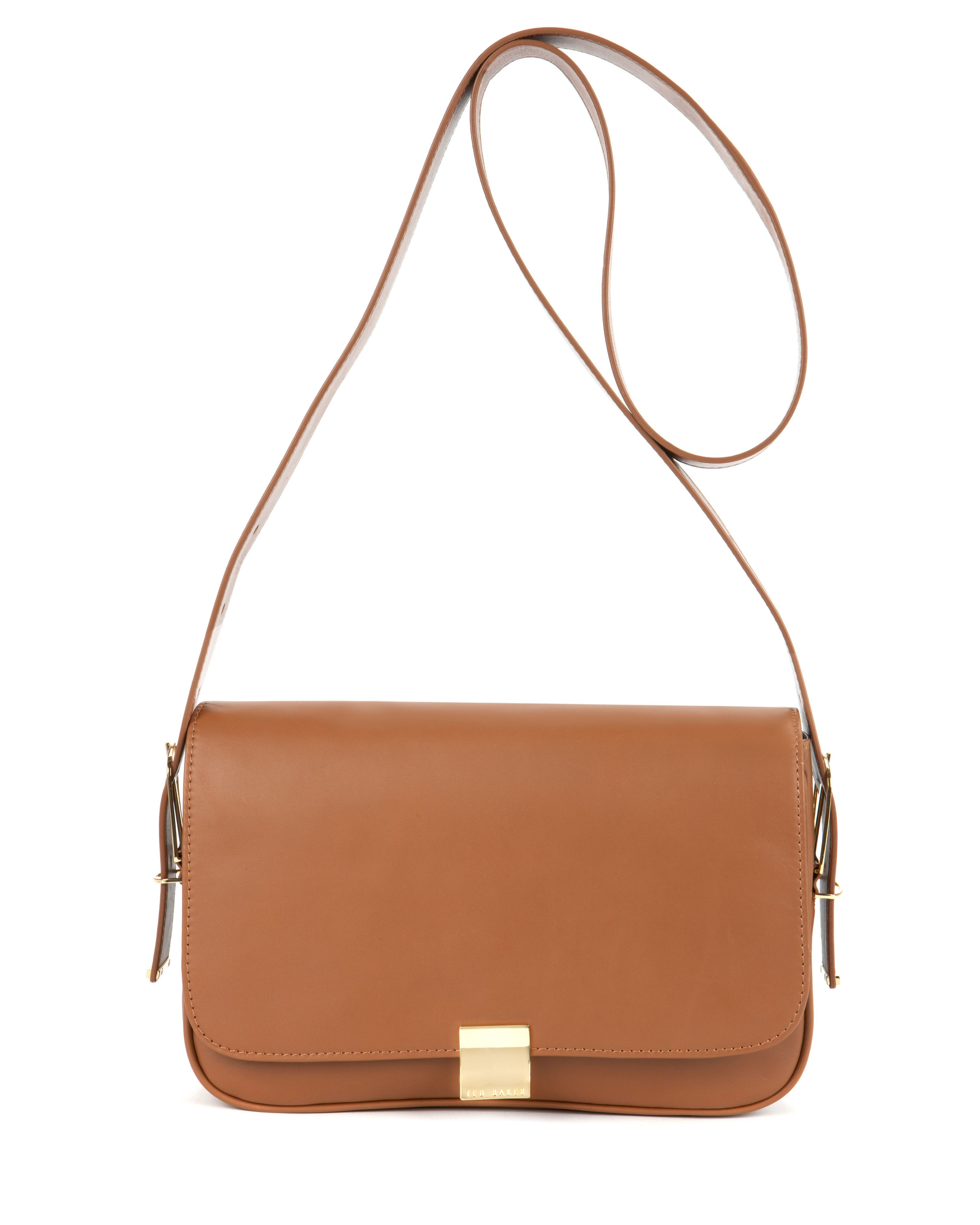 Ted baker Tisabel Leather Sling Bag in Brown | Lyst