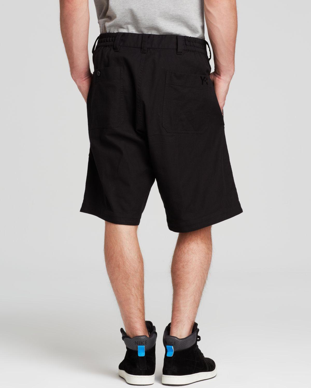 Y-3 Stmnt Shorts in Black for Men