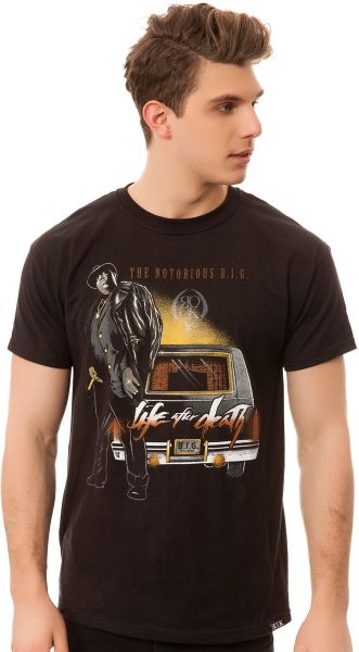 Rook The Life After Death Tee in Black for Men