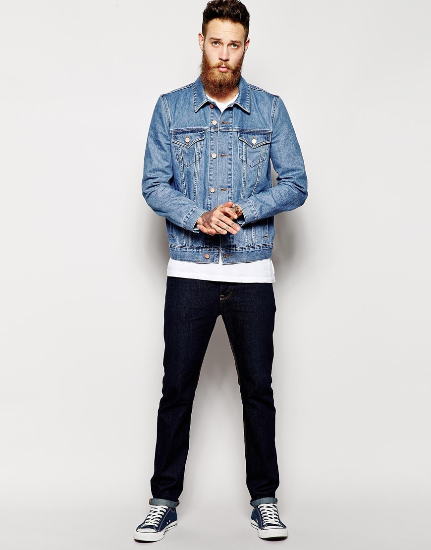 Images of Asos Denim Jacket - Reikian
