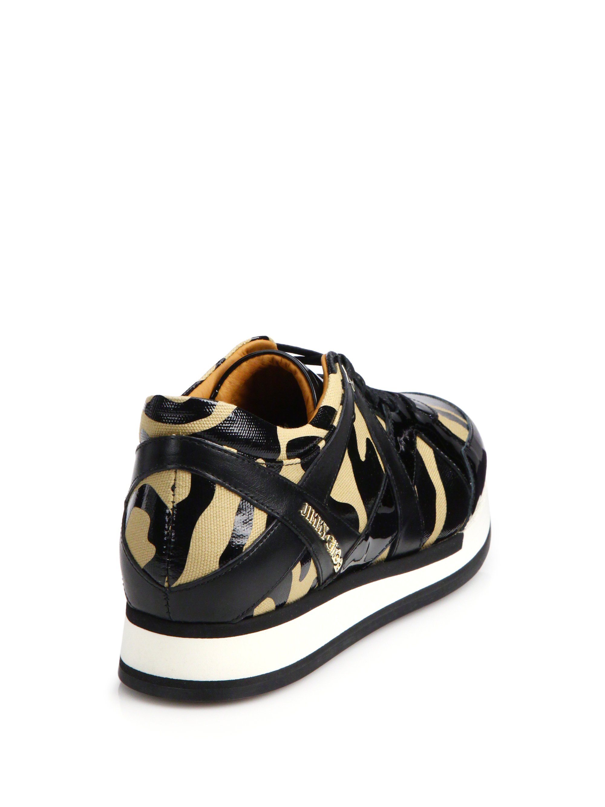 Miami leather and suede sneakers Jimmy Choo London ovh7tR
