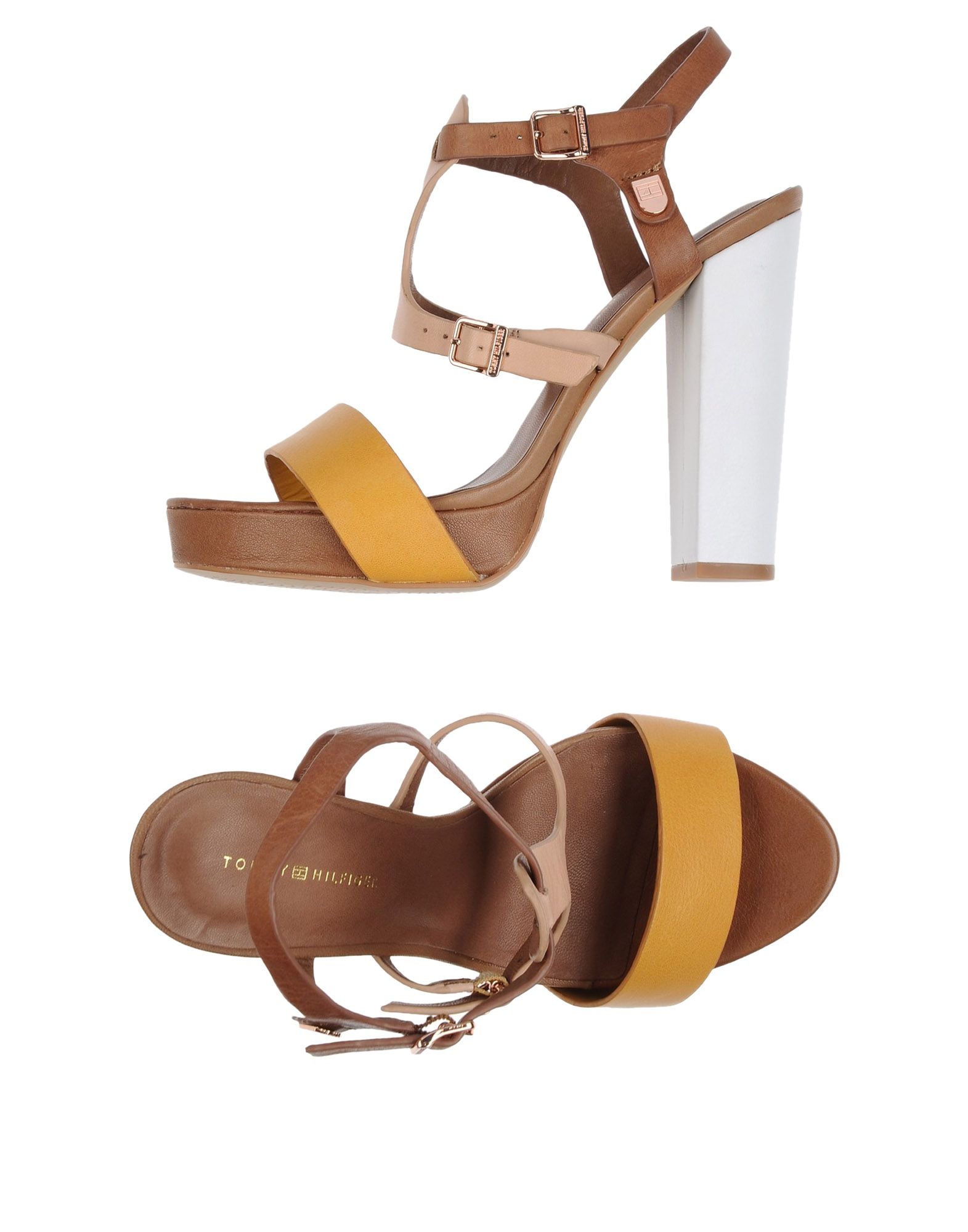 Lyst Tommy Hilfiger Sandals In Brown