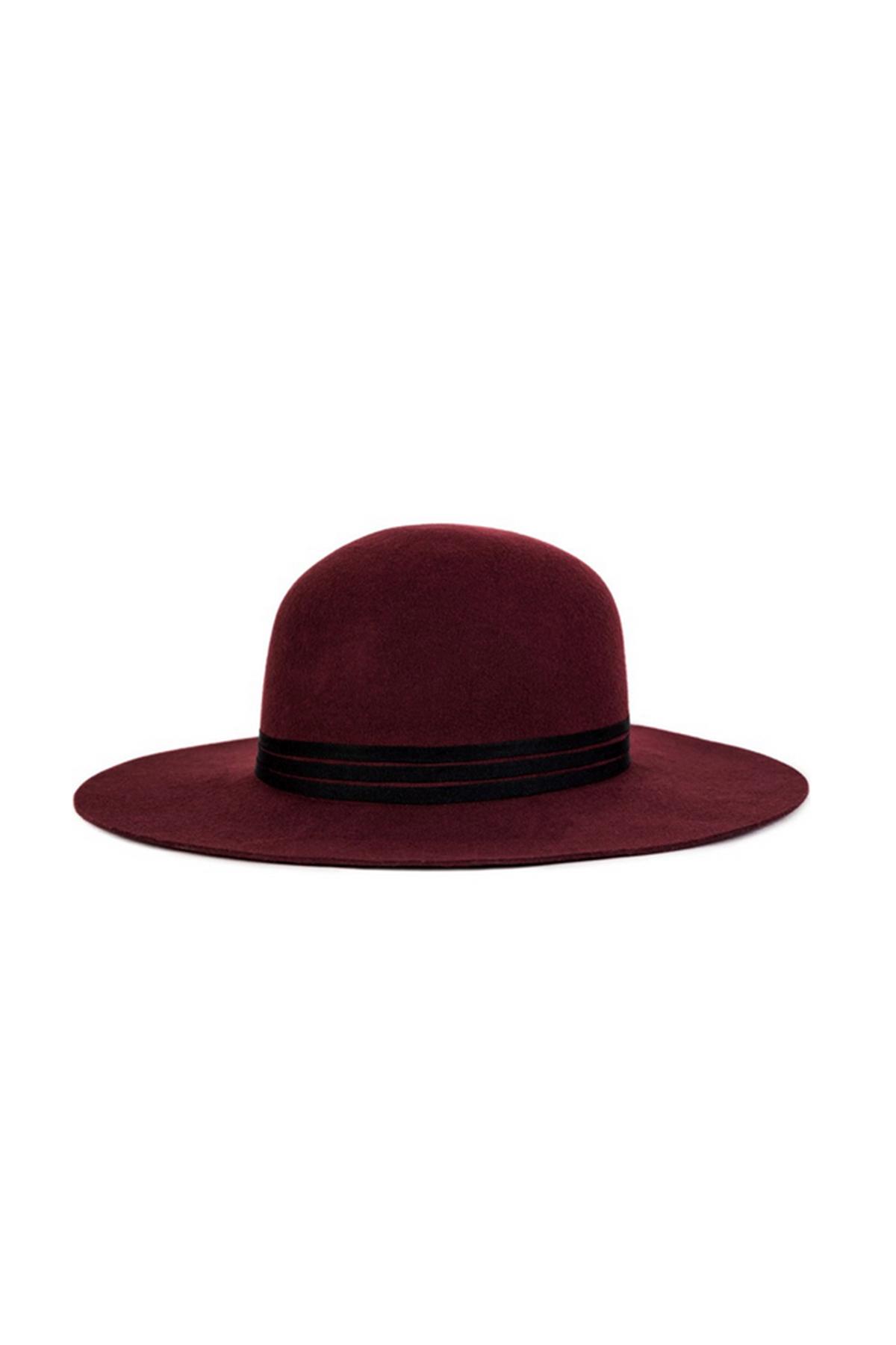 99d140b31d9 Lyst - Brixton Magdalena Hat in Purple