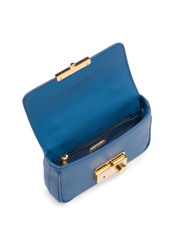 prada blue saffiano - Prada Saffiano Mini Sound Crossbody Bag in Blue (Blue (Cobalto ...