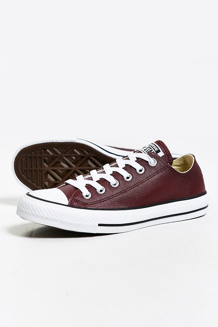 Converse Chuck Taylor All Star Leather Low Top Sneaker In
