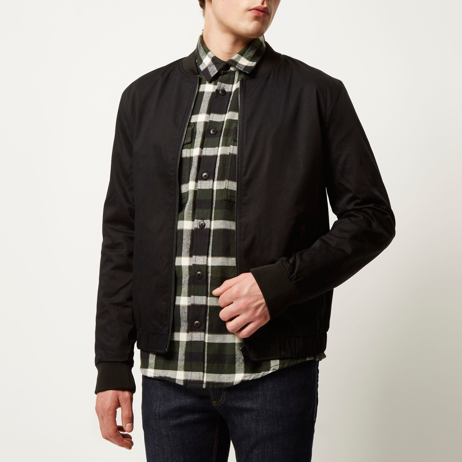 Casual Bomber Jacket - JacketIn