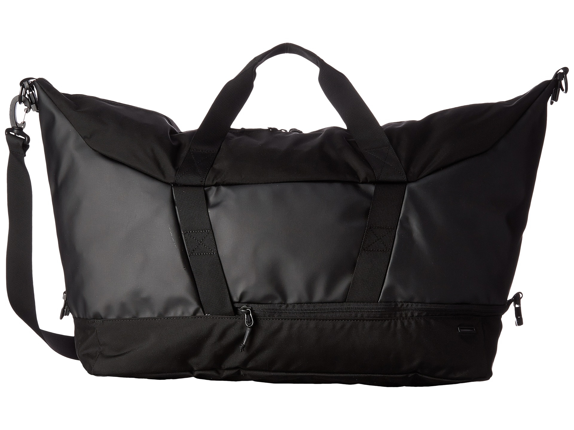the north face apex gym duffel bag in black lyst. Black Bedroom Furniture Sets. Home Design Ideas