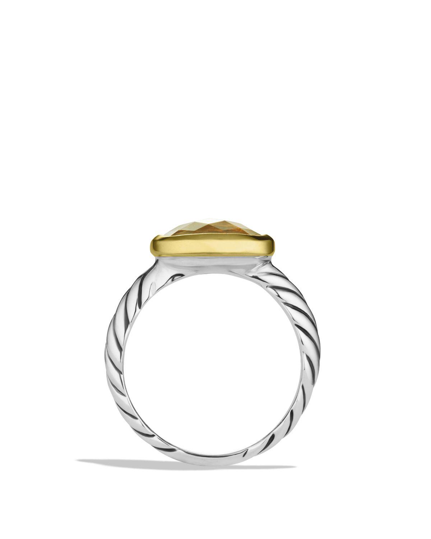 Champagne Citrine Noblesse Ring