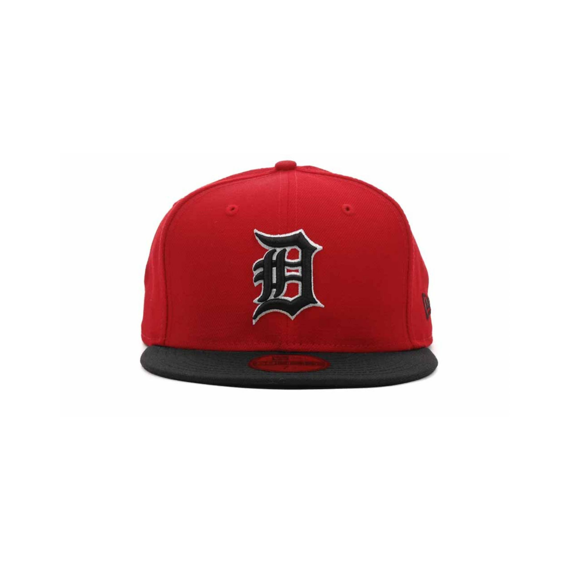 half off 76f2e 217fe ... caps adb76 cb99d sale lyst ktz detroit tigers 2tone 59fifty cap in red  for men 0c9d4 dad44 new ...