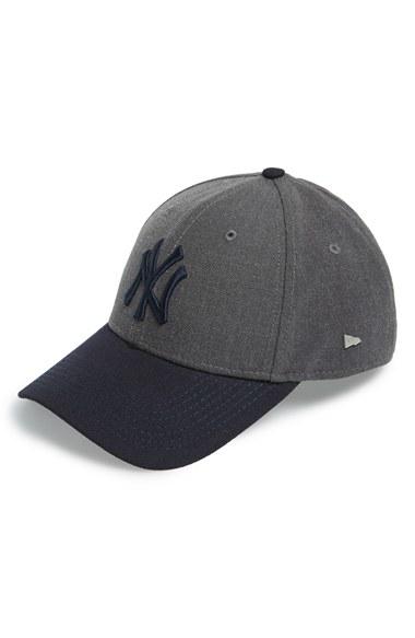 d7cdbdea9b8 50% off black new york yankees hat ticker 974ab ef50d