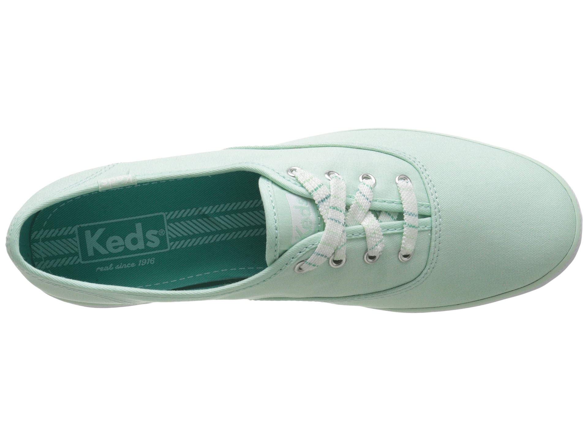 a79197945ac82 Lyst - Keds Champion Seasonal Solids in Green