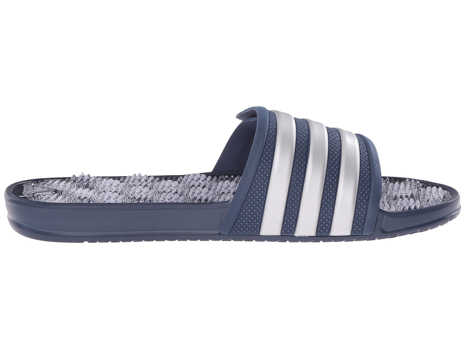 new product ba2f8 ca267 Lyst - adidas Originals Adissage 2.0 M Stripe in Blue for Me