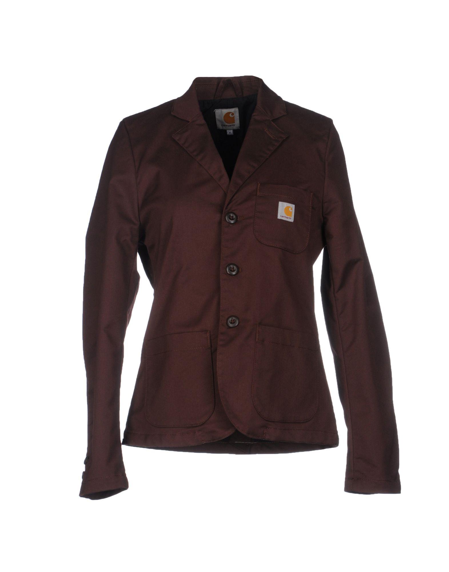 carhartt blazer in brown brown lyst