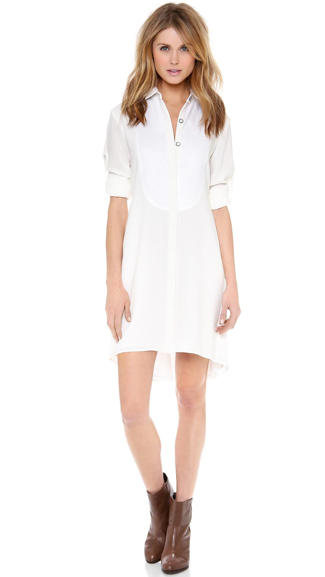 Lyst - Rag U0026 Bone Prairie Dress In White