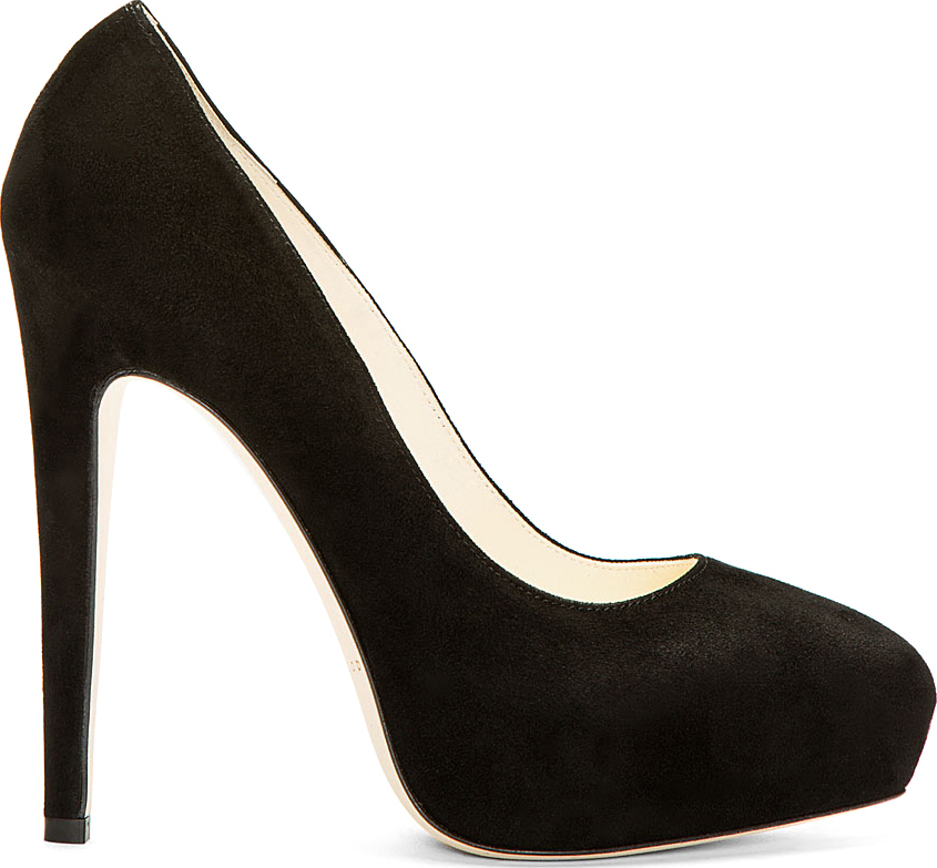 cheap sale manchester great sale Brian Atwood Suede Platform Pumps clearance latest collections limited edition cheap online UGCsFlamTl