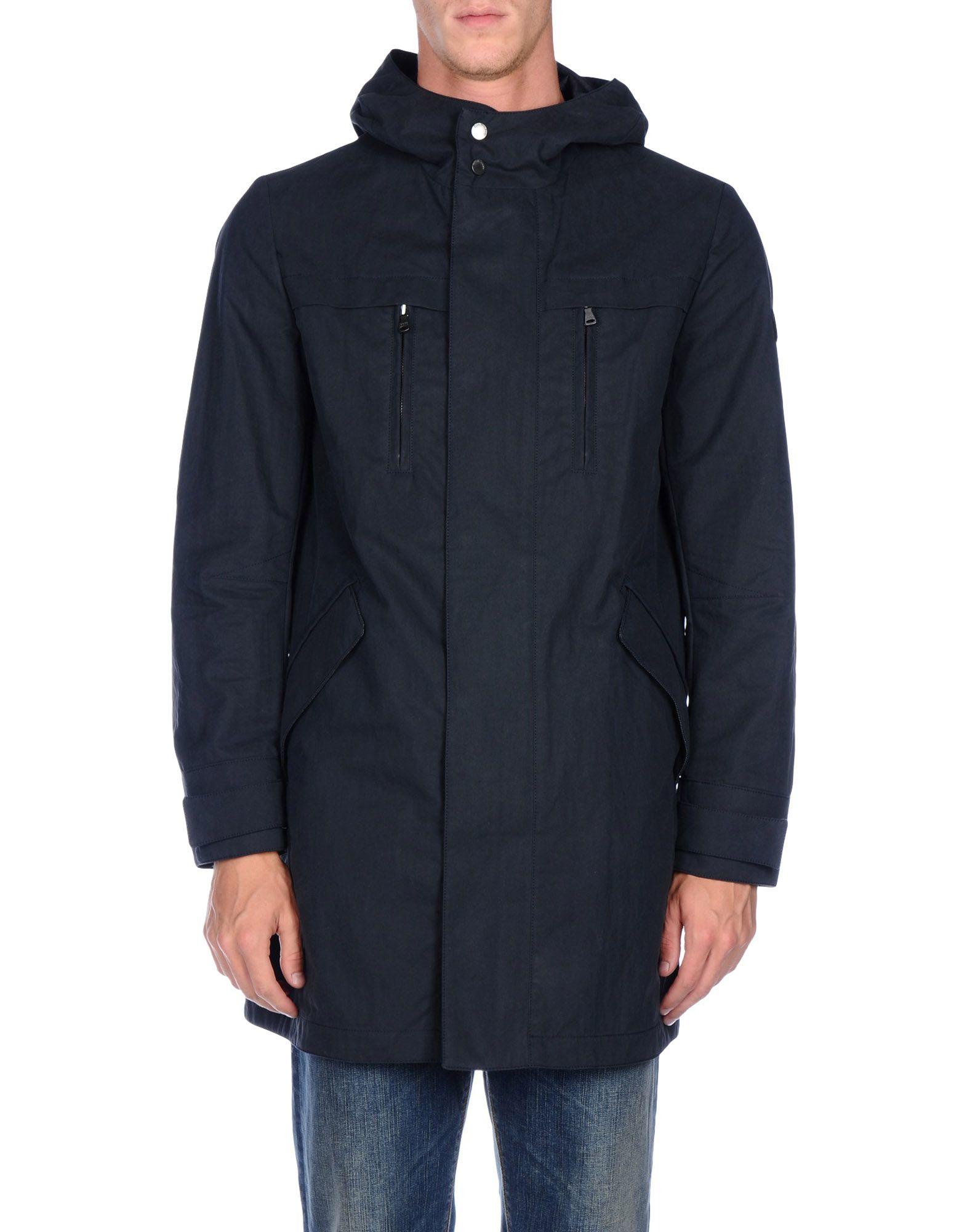 Lyst - Calvin Klein Jeans Jacket in Blue for Men