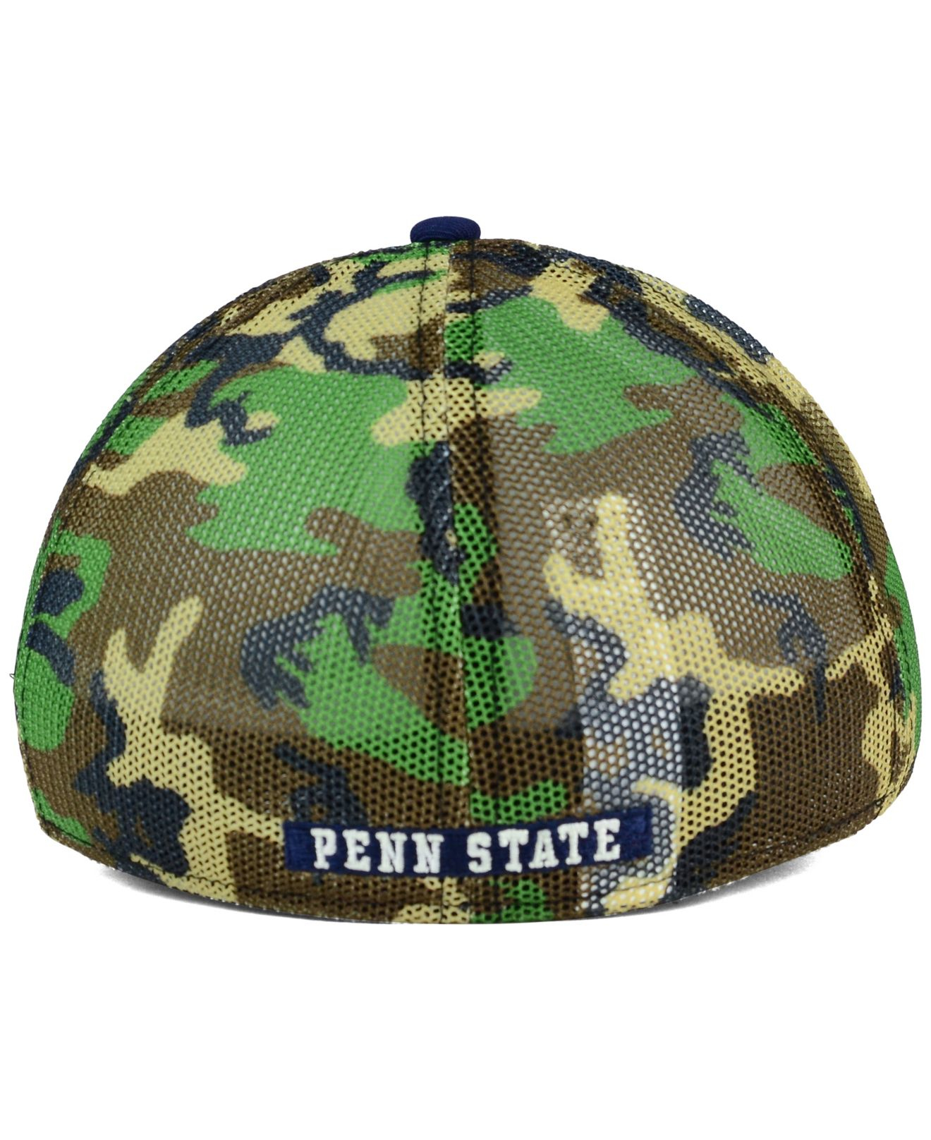 99a054233 ... reduced lyst nike penn state nittany lions camo hook swooshflex cap in  6e689 277d8