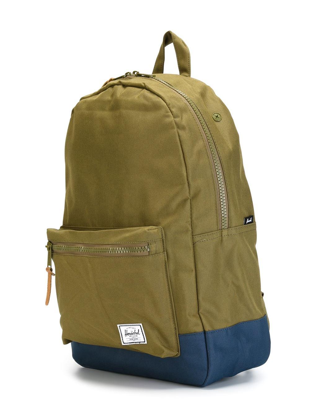Lyst - Herschel Supply Co.  pop Quiz  Backpack in Green for Men eaf654b2f16d9