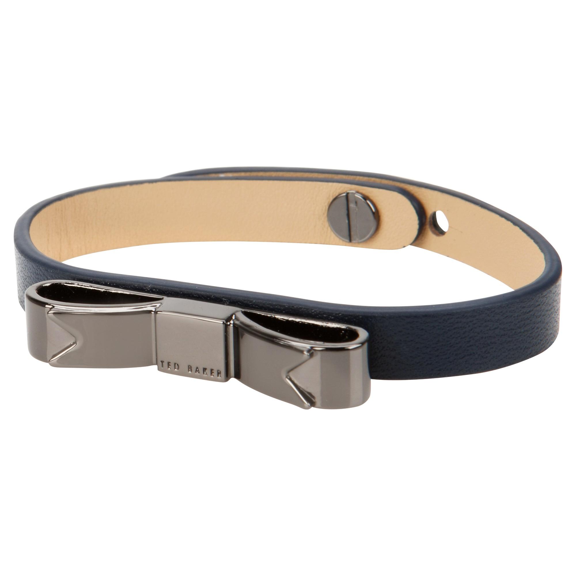 810b84b79317 Ted Baker Bowena Bow Bracelet in Blue - Lyst