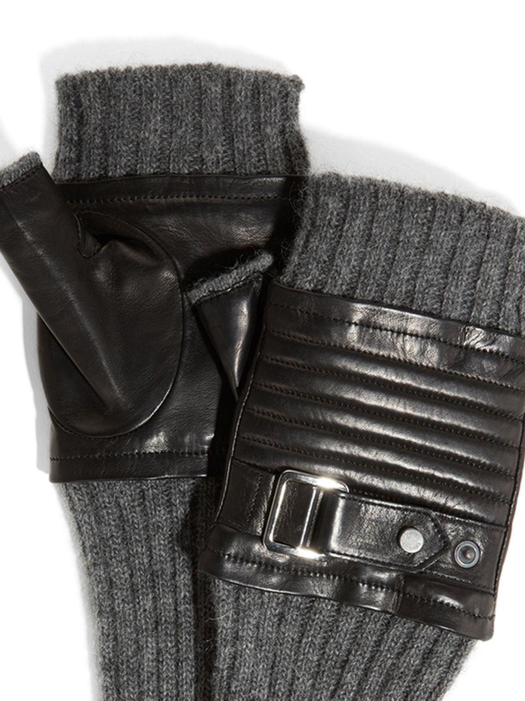 Fingerless gloves h m - Gallery Women S Leather Gloves