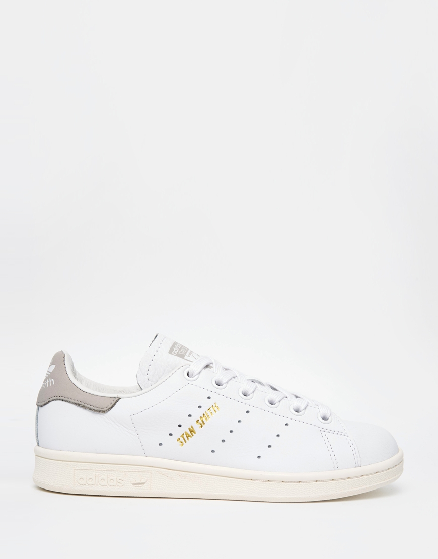 Lyst - adidas Originals Originals White Stan Smith Trainers in White 68ddb2e00
