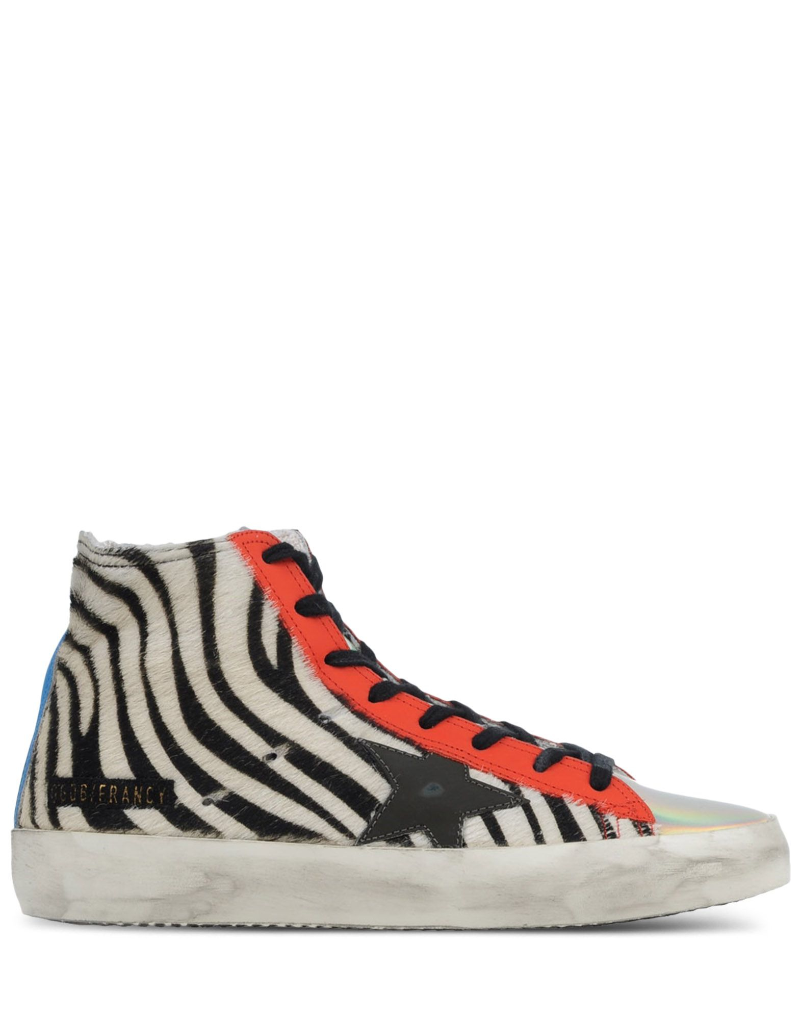 golden goose deluxe brand high top sneakers in multicolor white lyst. Black Bedroom Furniture Sets. Home Design Ideas