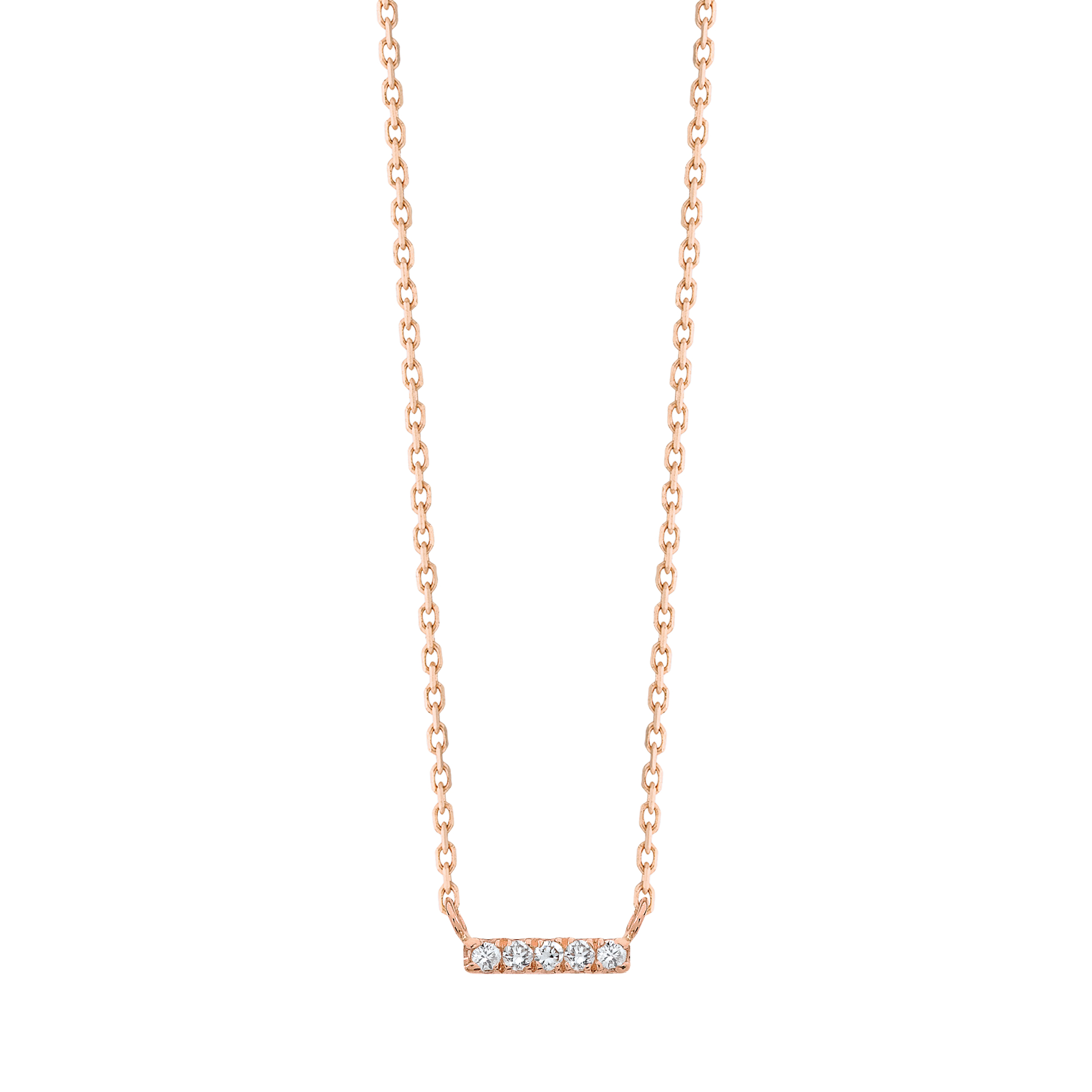 Medellin Pendant Necklace in gold and diamonds Vanrycke