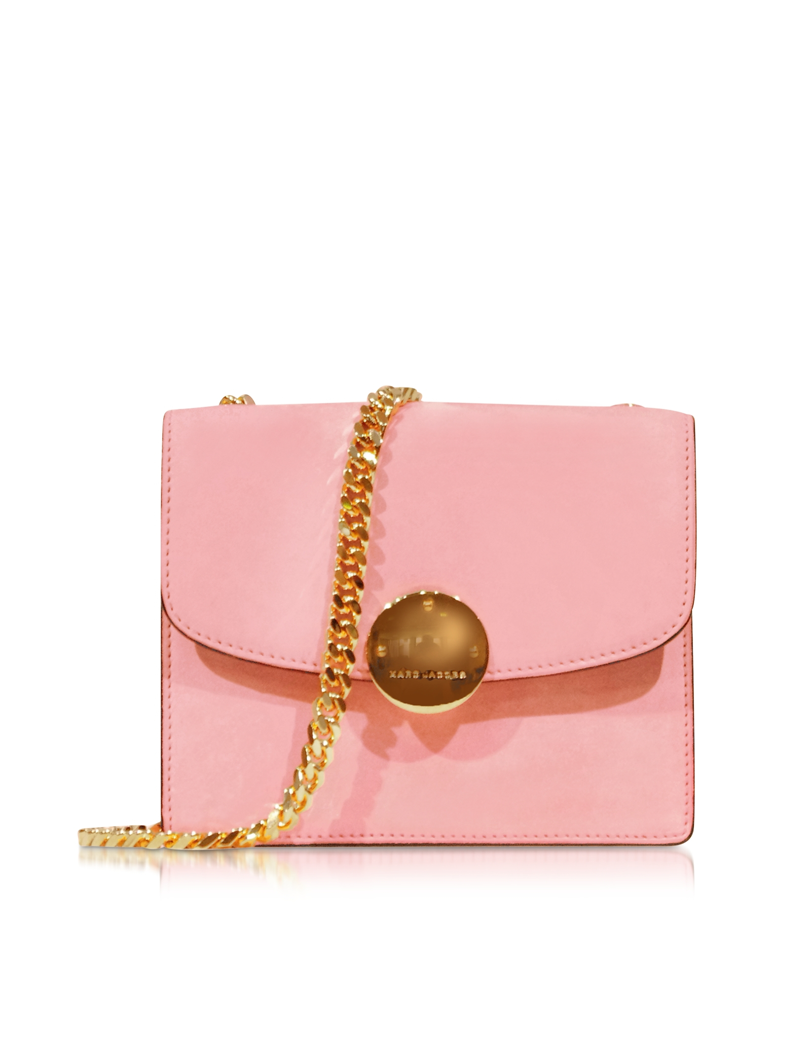 Lyst Marc Jacobs Mini Trouble Baby Pink Suede Shoulder