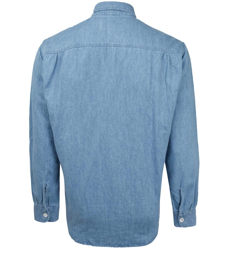 denim shirt pockets - photo #4