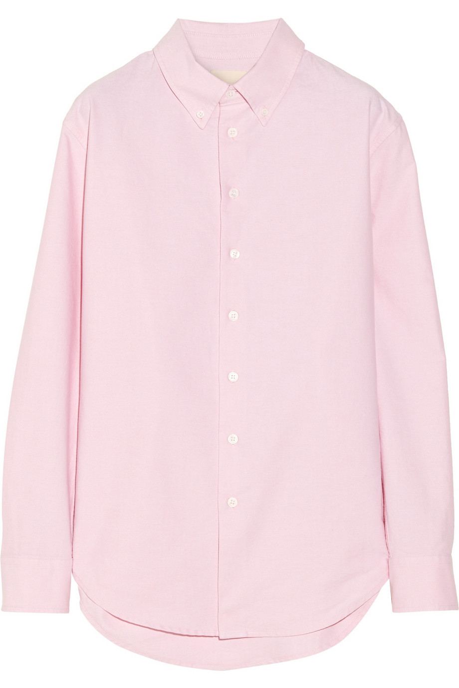 Band of outsiders Cotton Oxford Boyfriend Shirt in Pink | Lyst