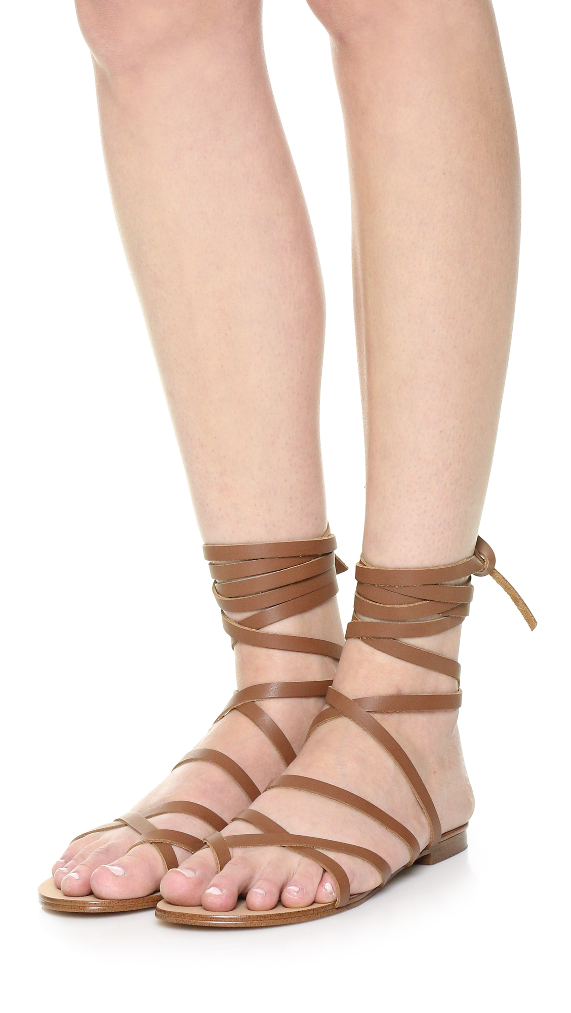 Steve Madden Lace Up Gold Shoes