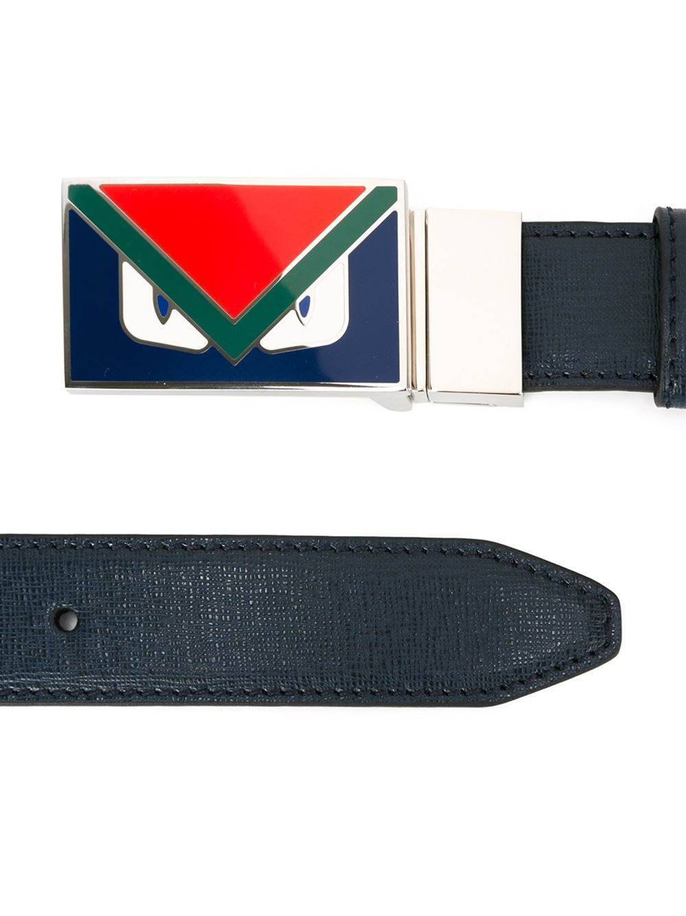 Fendi Bag Bugs Belt in Blue for Men | Lyst