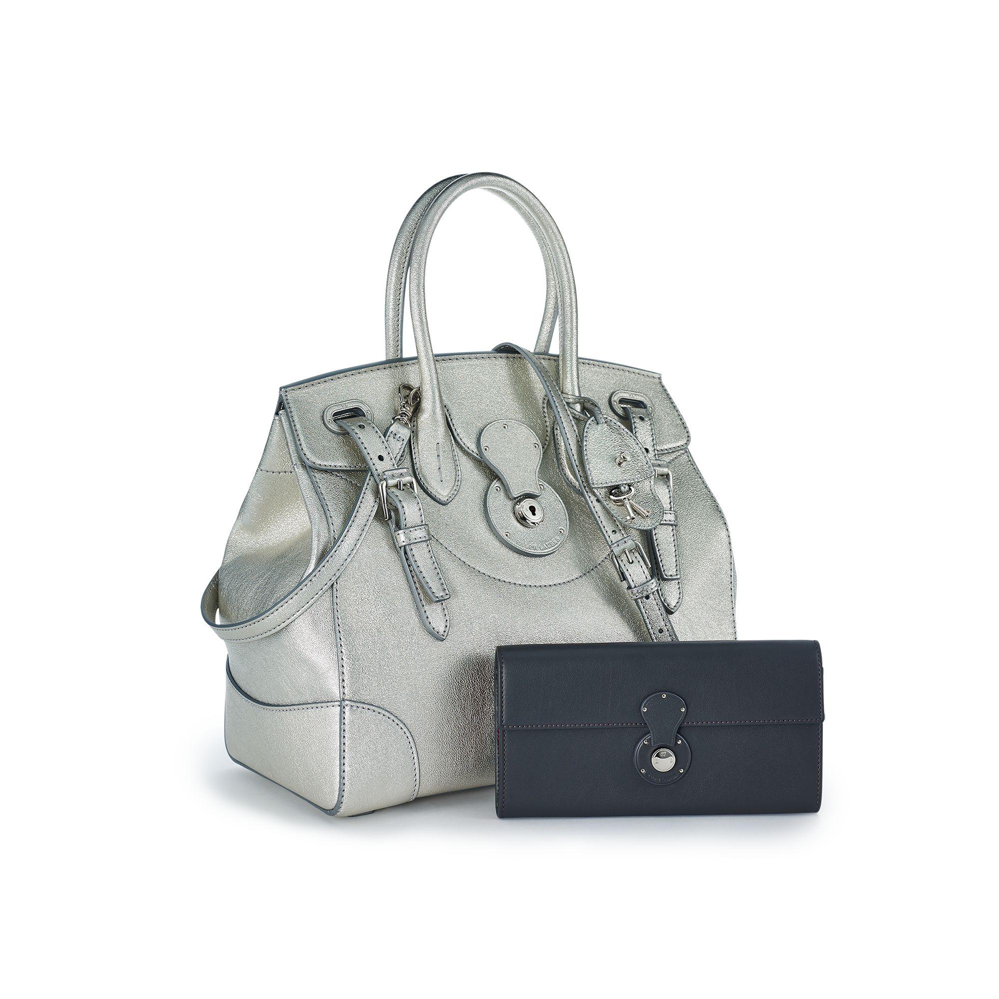 Pink Pony Metallic Soft Ricky Bag in Metallic - Lyst 3cc90cd3d1572