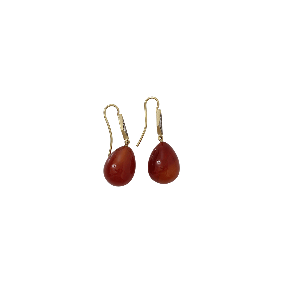Sylva & Cie. Agate Drop Earrings pjeBp3